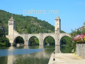 photo de Cahors pont valentre